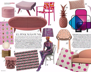 Elle Decor Spain Mach 2017 - Bitangra Furniture- Press Publication