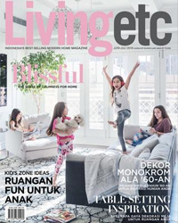Livingetc Indonesia June/July 2016 - Bitangra Furniture - Press Publication