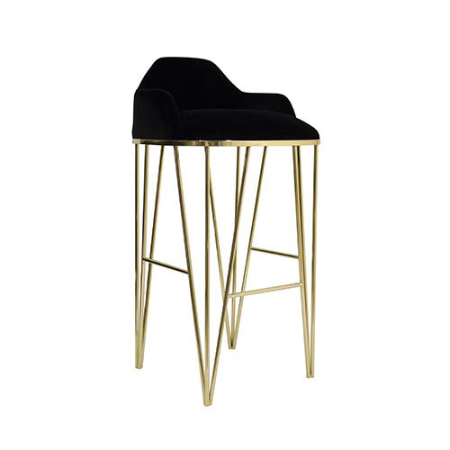 Hurricane Bitangra : hurricane luxury contemporary counter bar stool brass gold legs black velvet bitangra furniture design 01 2 from www.bitangra.com size 500 x 500 jpeg 37kB