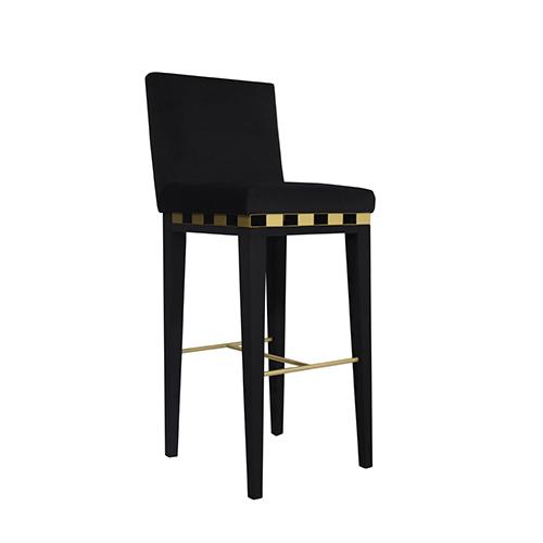 Jinga Bitangra : jinga contemporary bar chair counter stool brushed brass velvet bitangra furniture design 01 1 from www.bitangra.com size 500 x 500 jpeg 23kB