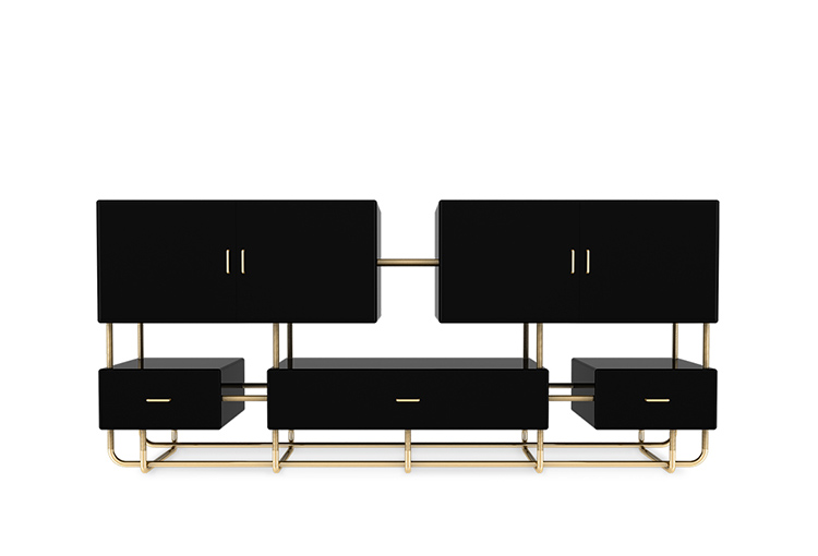 contemporary-black-sideboard-lacquered-wood-gold-leaf-brass-tubes-01