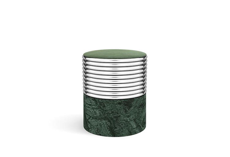 modern-contemporary-stool-marble-base-brass-structure-upholstered-velvet-seat-01