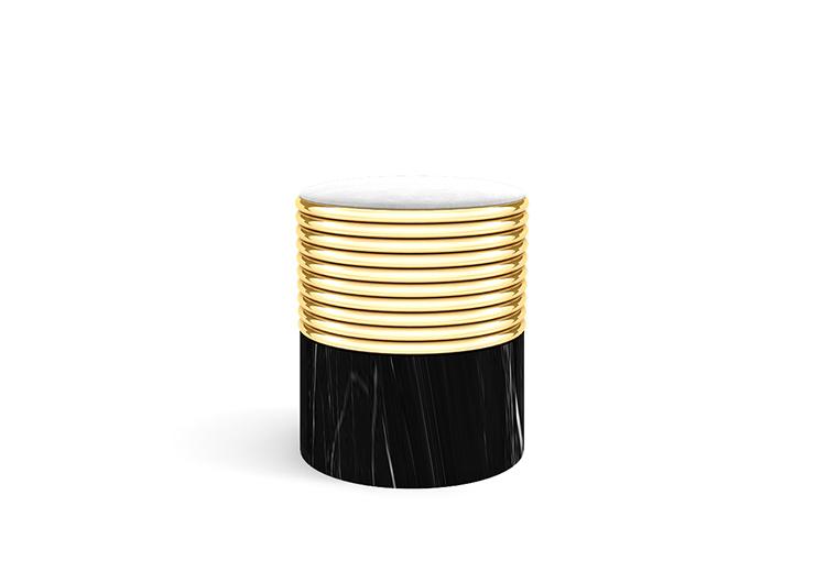 modern-contemporary-stool-marble-base-brass-structure-upholstered-velvet-seat-02